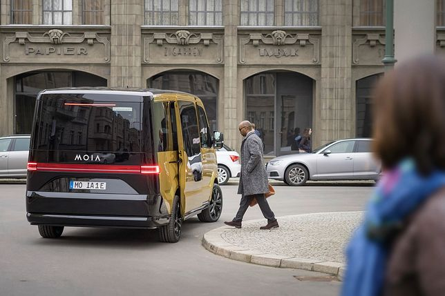 Nowy bus do usługi MOIA / fot. Volkswagen