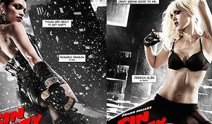 """Seksowne Jessica Alba i Rosario Dawson na nowych plakatach z """"Sin City 2""""!"""