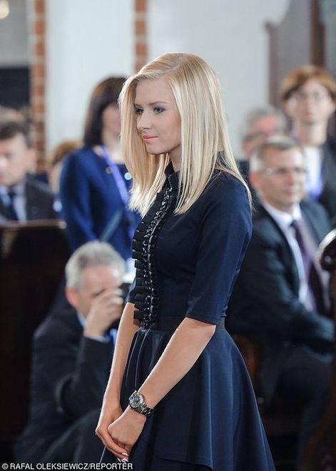 Córka prezydenta próbuje swoich sił jako modelka