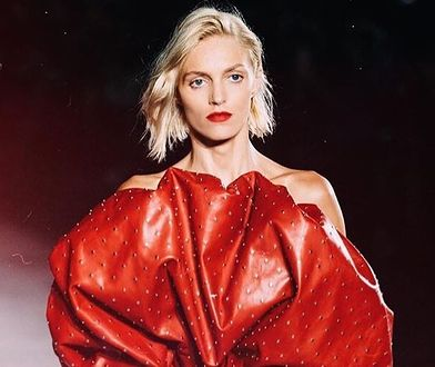 Anja Rubik największą gwiazdą pokazu kolekcji Saint Laurent. Pochwaliła się nową fryzurą!