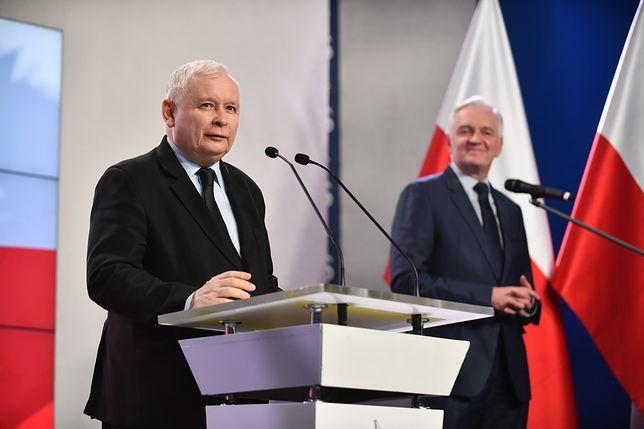 """Kaczyński o sondażu. """"Z szacunkiem i pokorą odnosimy się do wyników, ale jesteśmy pełni optymizmu"""""""