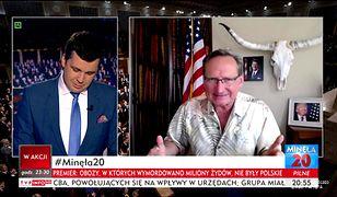 Wojciech Cejrowski i Michał Rachoń w TVP Info rozmawiali o sporze dyplomatycznym Polski i Izraela.