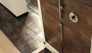 Modne płytki podłogowe i ścienne. Aranżacja łazienki