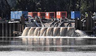 Pomorski sanepid zbadał próbki wody z Wisły po awarii w oczyszczalni ścieków Czajka w Warszarawie