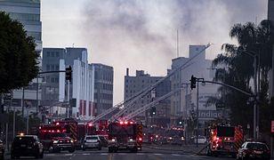Wybuch w centrum Los Angeles. Ranni strażacy