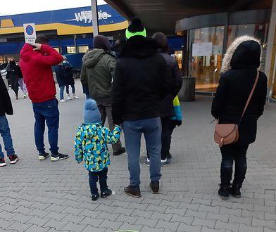 Pierwszy handlowy dzień w Nowym Roku. Znów kolejki przed Ikeą