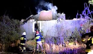 Emerytowany strażak zachował zimną krew. Wyniósł rodzinę z płonącego domu