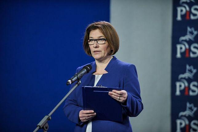 """Beata Mazurek ostro o prezydent stolicy. """"Jeśli nie stawi się na komisję, to znaczy, że ma coś do ukrycia"""""""