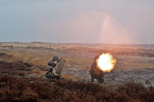 Żołnierze ostrzelali cele pod niemiecką granicą - zdjęcia
