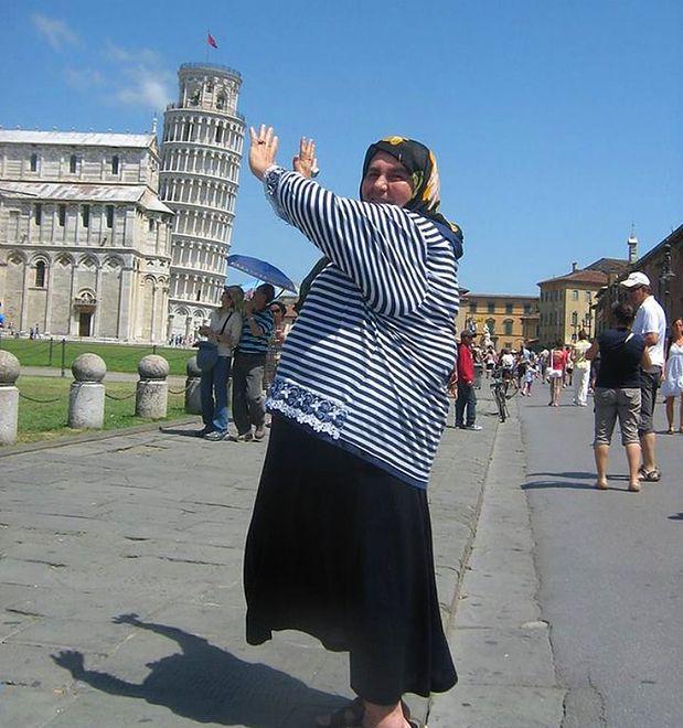 Ciocia Ayşe - 60-letnia turystka nowym hitem sieci