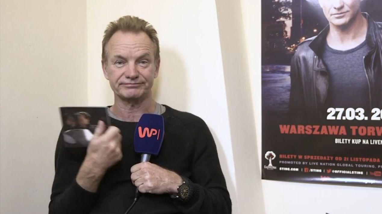 9c13511bee Każda wizyta Stinga w naszym kraju elektryzuje tłumy jego fanów. Po  wyprzedanym koncercie na warszawskim Torwarze artysta wystąpi jeszcze w  studiu im.