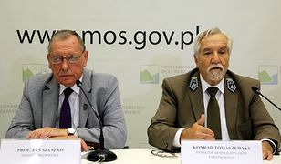 Jan Szyszko i Konrad Tomaszewski
