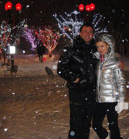 """""""Top model': Joanna Krupa z ukochany w Aspen"""