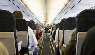 Wnętrze samolotu (zdjęcie poglądowe)