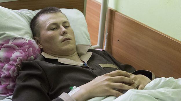 Aleksander Aleksandrow, jeden z zatrzymanych na Ukrainie Rosjan