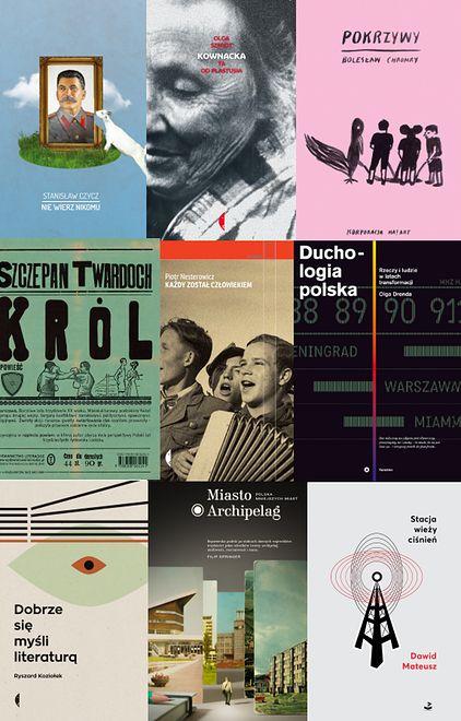 Najlepsze polskie książki minionego roku