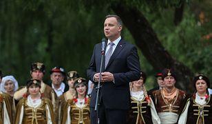 """Prezydent Andrzej Duda zaapelował o sadzenie drzew i """"miłość do lasu"""""""