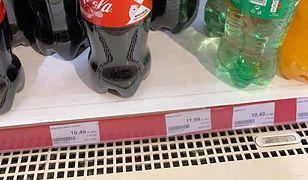 Podatek cukrowy. Ceny napojów poszybowały w górę