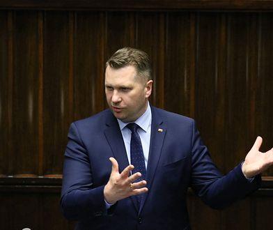 Przemysław Czarnek w Sejmie