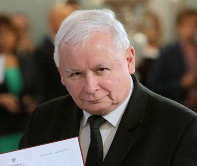 Jarosław Kaczyński / fot. Leszek Szymański