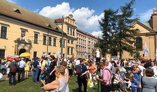 Wiec poparcia dla abpa Jędraszewskiego w Krakowie