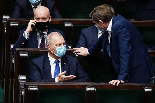 Warszawa, 18.11.2020. 21. posiedzenie Sejmu IX kadencji; początek obrad; n/z Lech Kolakowski