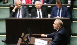 Debata przed głosowaniem nad wnioskiem o wotum nieufności dla rządu premier Beaty Szydło