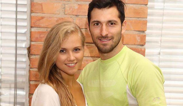 Agnieszka Kaczorowska i Rafał Maślak ostro trenują rumbę