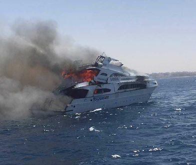 Na jachcie wybuchł pożar. Akcja marynarki wojennej na Morzu Czerwonym