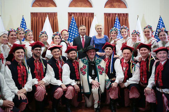 Andrzej Duda o rozmowach z Donaldem Trumpem: to nie jest bicie piany
