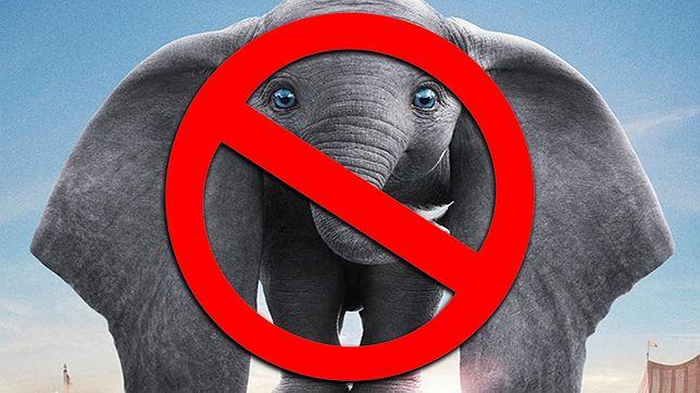 Dumbo nie dla małych dzieci