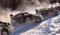 Ken Block w Rosji, czyli rajdówka na śniegu