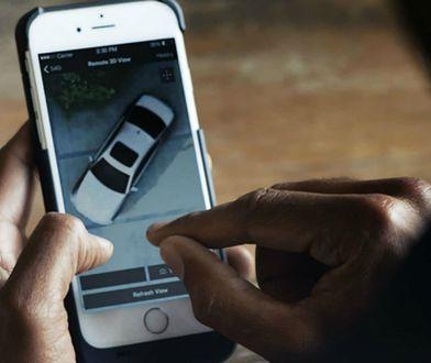 BMW oferuje w serii 5 możliwość zdalnego podglądu samochodu przez urządzenie mobilne