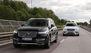 Volvo XC90 do Göteborga: przełamując fale