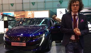 Olśniewający Peugeot 508. Na żywo wygląda jeszcze lepiej niż na zdjęciach