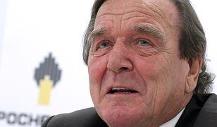 Były kanclerz Niemiec został prezesem Rosneftu. Schroeder twierdzi, że nie chodzi mu o pieniądze
