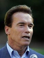 Arnold Schwarzenegger i ekologiczne pączki