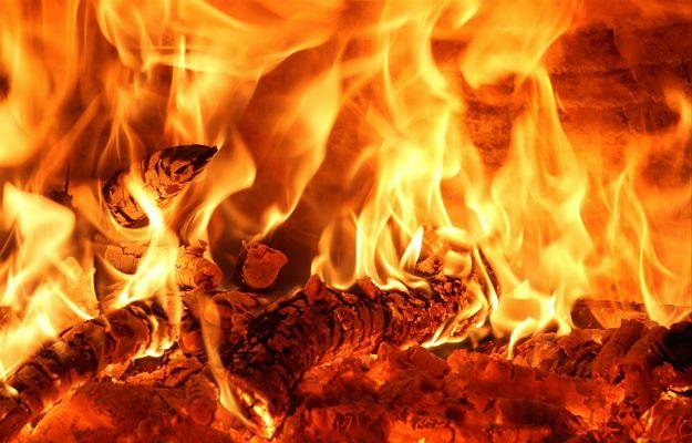 Białoruś: pożar na byłym poligonie przy granicy z Ukrainą