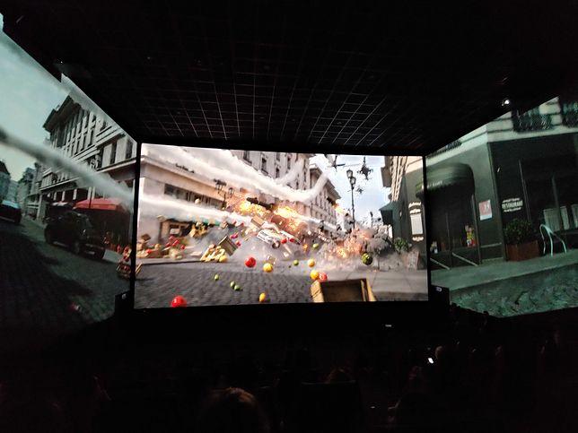 Oto Screen X. Byliśmy w najnowszym kinie w Polsce z ekranem 270 stopni