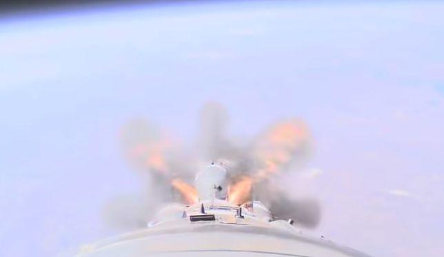 Awaria Sojuz-MS10. Zobacz film z katastrofy