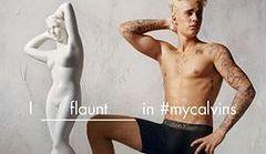 Justin Bieber i Kendall Jenner w kampanii Calvin Klein