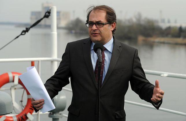 Minister Gróbarczyk: przekopanie Mierzei Wiślanej poprawi nasze bezpieczeństwo
