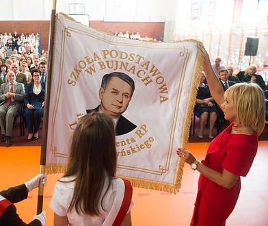 Lech Kaczyński został patronem szkoły w okręgu Macierewicza