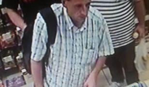 Poszukiwany sprawca kradzieży [zdjęcia z monitoringu]