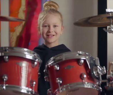 10-letnia perkusistka z Danii robi furorę