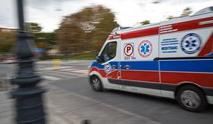 Radom. Trzy osoby trafiły do szpitala
