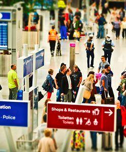 Atak nożownika na lotnisku. Trwa obława służb