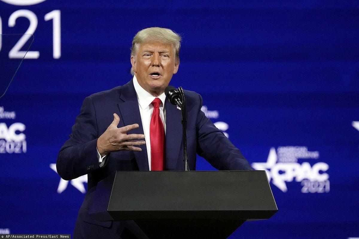 USA. Donald Trump pytany o wybory. Wskazuje na sondaże
