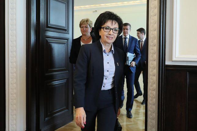 Minister Spraw Wewnętrznych i Administracji Elżbieta Witek