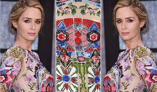 LOOK OF THE DAY: Emily Blunt w kwiatowej sukni marki Alexander McQueen